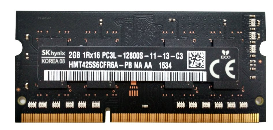 Memória Apple para Mac  -  2GB - DDR3 - 12800S - Frequência 1600MZ