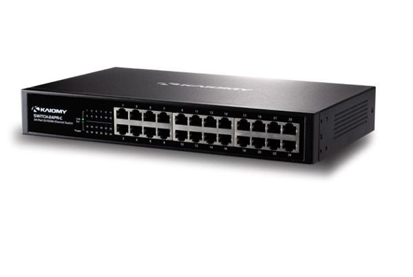 Switch Ethernet – 24 portas 10/100 MOD. SWITCH-24PR-C