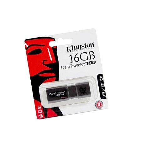 Pendrive 16GB Kingston DataTraveler – USB 3.1/3.0/2.0