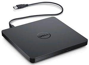 Leitor e Gravador Slim de CD/DVD/RW com conexão USB - Dell