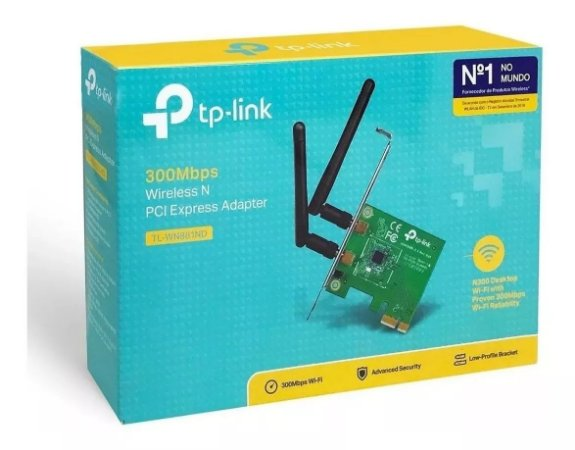 Adaptador Wifi Wireless N PCI Express Tp-link Tl-WN881nd 300mbps
