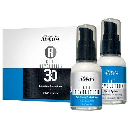 Kit Revolution 30 – Peeling e Lifting Facial com Preenchimento de Rugas