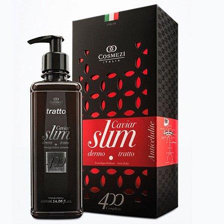 Caviar Dermo Slim 400ml - Creme Anticelulite