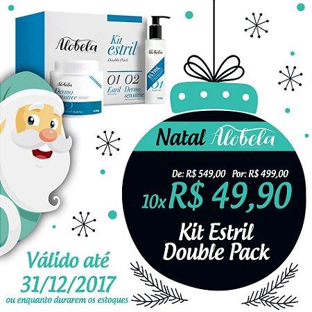 Kit Estril Double Pack Natal- Creme Anti Estrias Double Pack