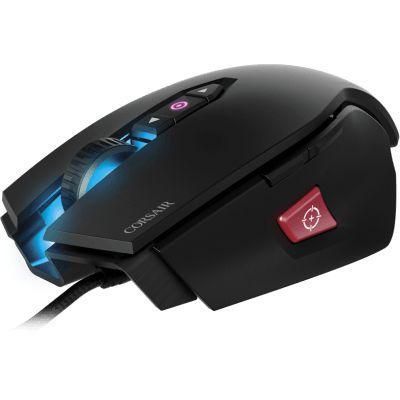 Mouse Gamer Corsair 12000DPI RGB 8 Botões Preto M65 Pro - CH-9300011