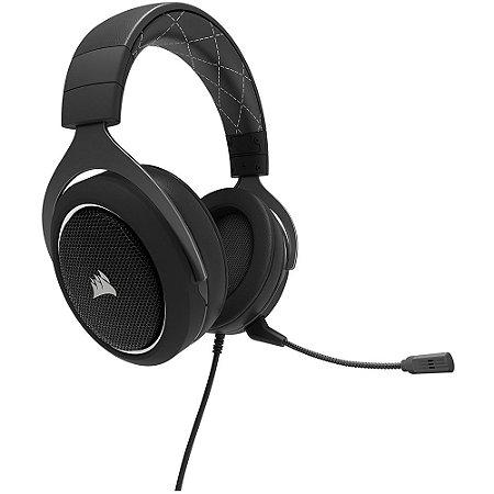 Headset Gamer Corsair 7.1 USB Preto/Branco HS60 - CA-9011174-NA