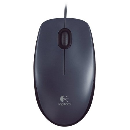 Mouse Logitech M100 Preto 1000DPI  Preto