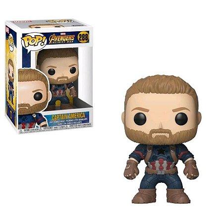 Funko Pop Marvel: Avengers 3 Infinity War-Cap America 288