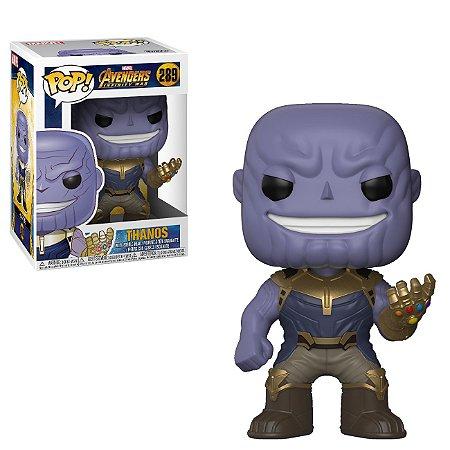 Funko Pop - Thanos - Vingadores Guerra Infinita - 289