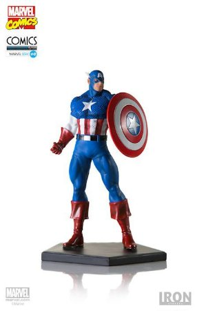 Capitão América - Marvel Comics Series 4 - 1/10 Art Scale Iron Studios