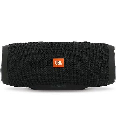 Caixa de Som JBL Charge 3, Bluetooth, A Prova D´Água, 2x10W, Preta