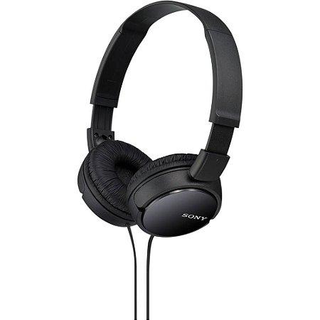 Headphone Sony Preto MDR-ZX110/ PT
