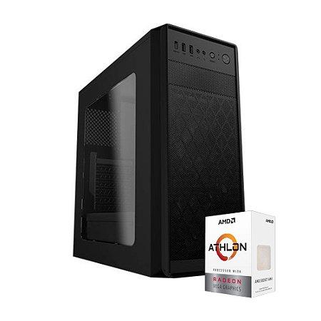 PC GAMER X1 MOBA - AMD ATHLON 200GE (VEGA 3), 8GB DDR4 (2 x 4gb), 500 GB