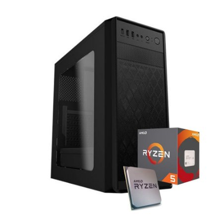 PC GAMER X5 MOBA - AMD RYZEN 5 2400G (VEGA 11), 8GB DDR4 (2 x 4gb), 1TB