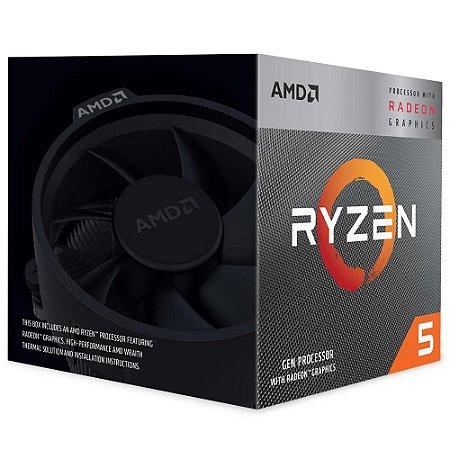 Processador AM4 Ryzen 5 3400G