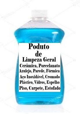 Base de Produtos para Limpeza Geral faz 100 lts