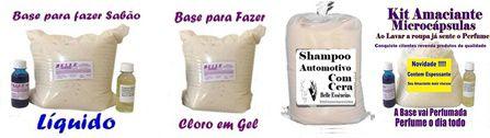 Fornecedor de Base para Produtos de Limpeza Kit 50 lt cada*