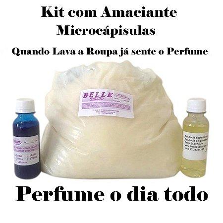 Kit Amaciante com Microcápsulas faz 50 litros