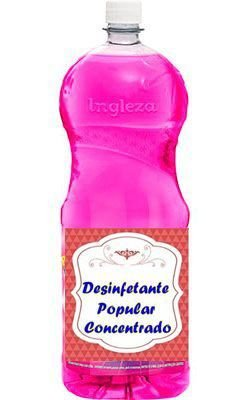 Base para desinfetante com essência e corante 50 litros