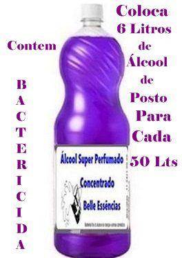 Álcool Super Perfumado Produto para Limpeza faz 50 Lts