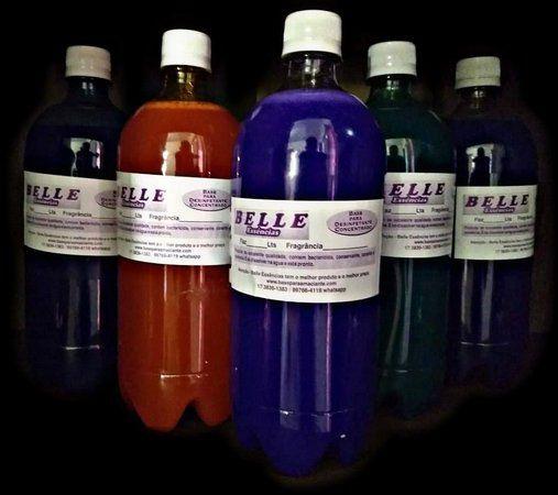 Desinfetante Concentrado 4 frascos faz 200 litros