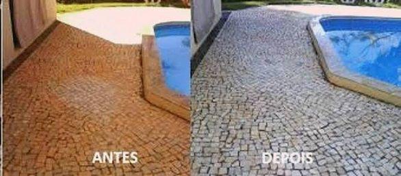Produto para Limpeza de Pedras faz 200 Lts