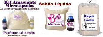 Fábrica de Produtos de Limpeza - Amaciante-Sabão e Detergente