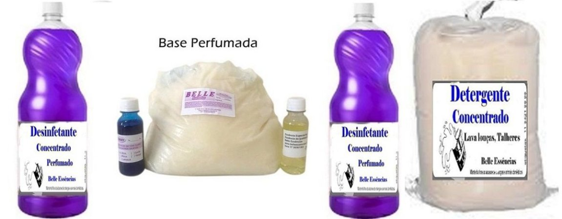 Produtos de limpeza para diarista- Amaciante-Detergente e Desinfetante