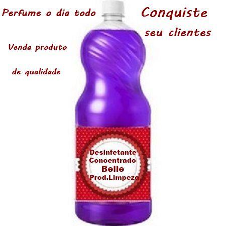 Desinfetante Concentrado Completo Perfuma dia Todo 100 Lts