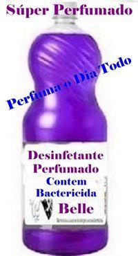 Desinfetante Concentrado c/Bactericida Perf.Dia Todo 100 Lt