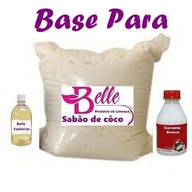 Concentrado para fazer Sabão Líquido de Coco Base faz 100 litros