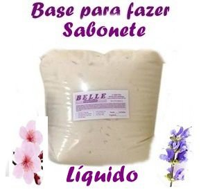 Base para Sabonete Líquido Transparente faz 250 lts