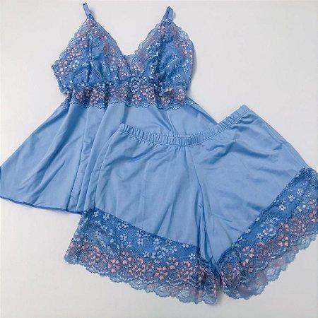 Baby Doll Azul Bebe