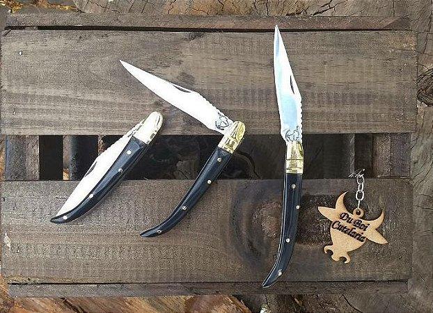 Canivete Francês Com Cabo de Chifre