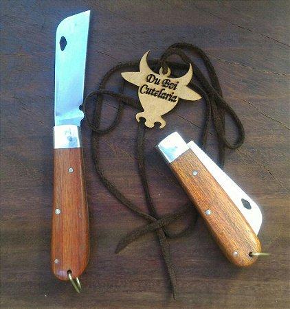 Canivete Tradicional Cabo de Madeira