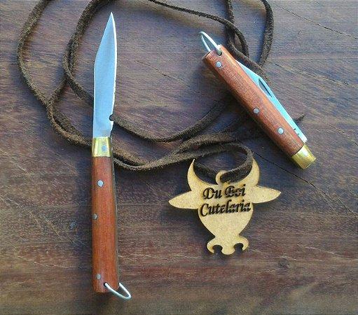 Canivete Tradicional Médio Com Ponta