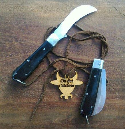 Canivete Tipo Foice - Cabo de Chifre