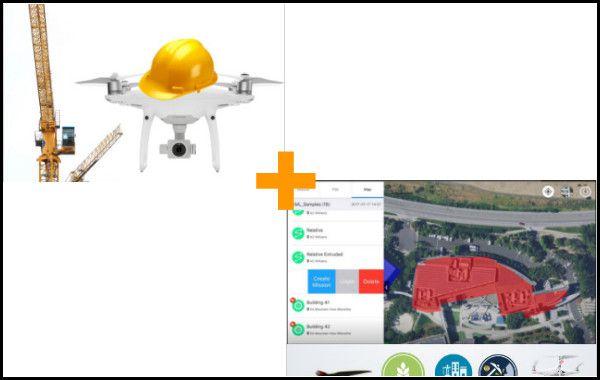 Curso de Mapeamento Aéreo com Drones + Curso de Inspeções com Drones Infraestruturas e Obras