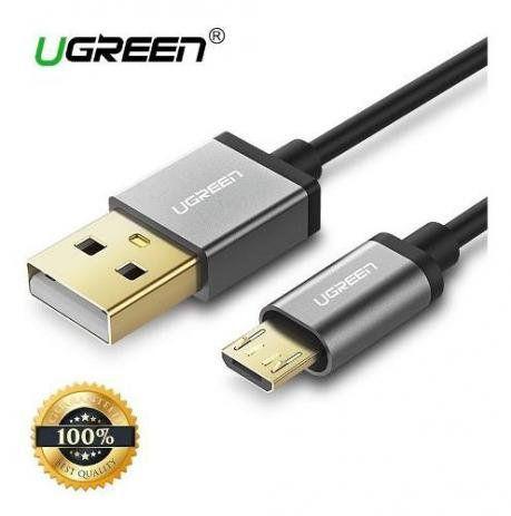 Cabo Mini-USB 2.0 1.5m Ugreen Trançado