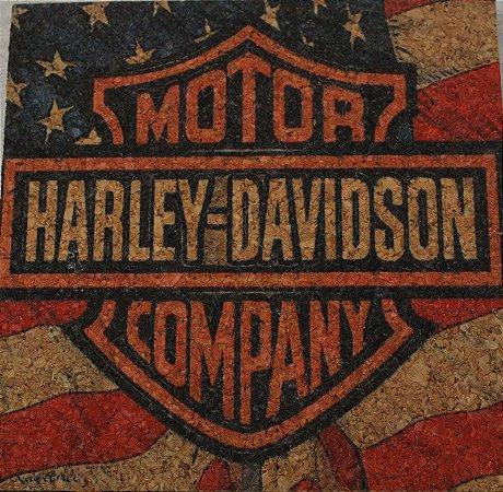 Kit porta copos Harley 2 peças de cada (12 unidades)