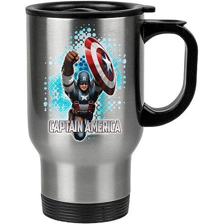 Caneca Térmica Capitão America 01