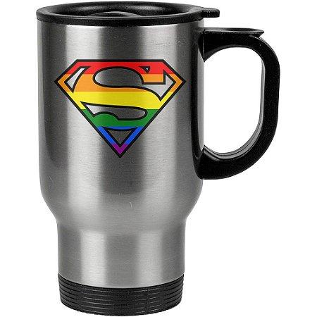 Caneca Térmica Superman LGBT