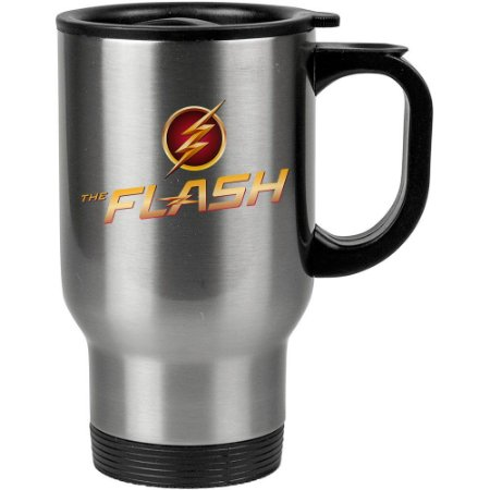 Caneca Térmica The Flash Logo Fashion 02