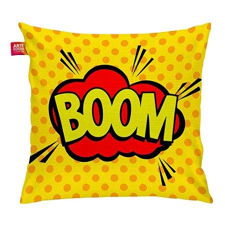 Almofada Onomatopeia Comic Boom 01 35x35cm