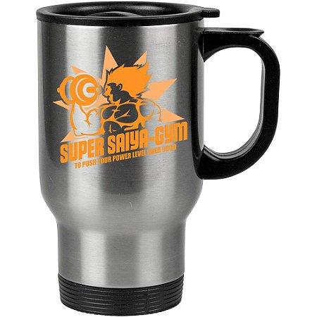 Caneca Térmica Dragon Ball Super Saiyan Academia