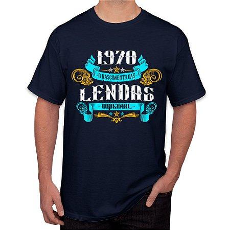 Camiseta Masculina 1970 O Nascimento de Lendas v2