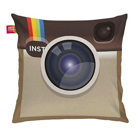 Almofada Redes Sociais Instagram 01 35x35cm