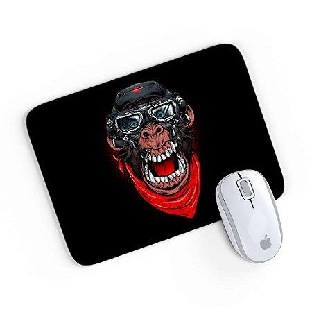 Mouse Pad A Aventura do Macaco Mau Preto 24x20