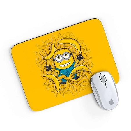 Mouse Pad American Minion Bananas Amarelo 24x20