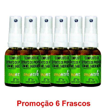 PROMOÇÃO 6 Própolis Spray Mel e Menta 35 ml